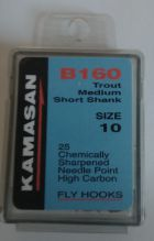 KAMASAN B160 FLY HOOK SIZE 10