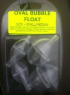 C J T OVAL BUBBLE FLOATS - SMALL/MED