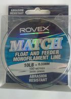 ROVEX MATCH FLOAT & FEEDER MONOFILAMENT - 10LB